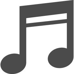 音符の無料アイコン アイコン素材ダウンロードサイト Icooon Mono 商用利用可能なアイコン素材が無料 フリー ダウンロードできるサイト