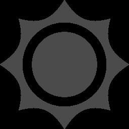 太陽のアイコン 2 アイコン素材ダウンロードサイト Icooon Mono 商用利用可能なアイコン素材が無料 フリー ダウンロードできるサイト