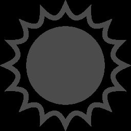 太陽のアイコン 3 アイコン素材ダウンロードサイト Icooon Mono 商用利用可能なアイコン素材が無料 フリー ダウンロードできるサイト