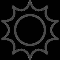太陽のアイコン 5 アイコン素材ダウンロードサイト Icooon Mono 商用利用可能なアイコン素材が無料 フリー ダウンロードできるサイト