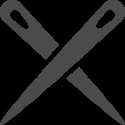 針のクロスアイコン アイコン素材ダウンロードサイト Icooon Mono 商用利用可能なアイコン素材が無料 フリー ダウンロードできるサイト