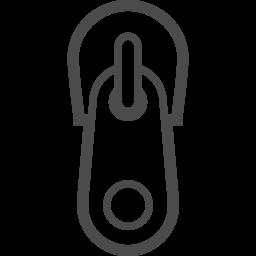 ジッパーのイラスト アイコン素材ダウンロードサイト Icooon Mono 商用利用可能なアイコン素材が無料 フリー ダウンロードできるサイト