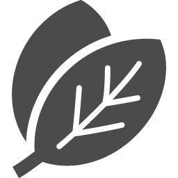 葉っぱのエコアイコン アイコン素材ダウンロードサイト Icooon Mono 商用利用可能なアイコン 素材が無料 フリー ダウンロードできるサイト