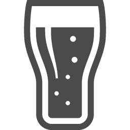 グラスに注いだビールアイコン アイコン素材ダウンロードサイト Icooon Mono 商用利用可能なアイコン 素材が無料 フリー ダウンロードできるサイト