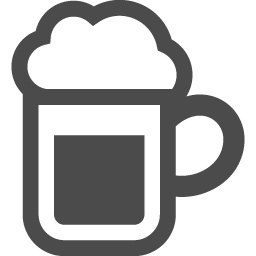 ビールジョッキのアイコン 2 アイコン素材ダウンロードサイト Icooon Mono 商用利用可能なアイコン 素材が無料 フリー ダウンロードできるサイト