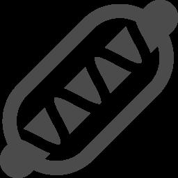 ホットドッグ 1 アイコン素材ダウンロードサイト Icooon Mono 商用利用可能なアイコン素材が無料 フリー ダウンロードできるサイト
