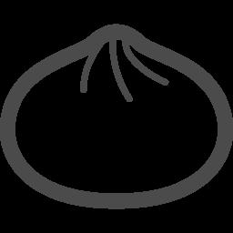 肉まん あんマンのアイコン アイコン素材ダウンロードサイト Icooon Mono 商用利用可能なアイコン素材が無料 フリー ダウンロードできるサイト