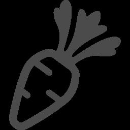 人参のフリーアイコン アイコン素材ダウンロードサイト Icooon Mono 商用利用可能なアイコン 素材が無料 フリー ダウンロードできるサイト