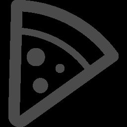 カットしたピザのアイコン アイコン素材ダウンロードサイト Icooon Mono 商用利用可能なアイコン素材が無料 フリー ダウンロードできるサイト