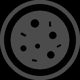 無料で使えるピザのアイコン アイコン素材ダウンロードサイト Icooon Mono 商用利用可能なアイコン素材が無料 フリー ダウンロードできるサイト