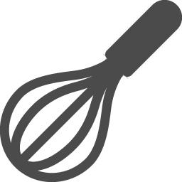泡立て器のアイコン アイコン素材ダウンロードサイト Icooon Mono 商用利用可能なアイコン素材が無料 フリー ダウンロードできるサイト