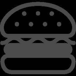 ハンバーガーのアイコンその2 アイコン素材ダウンロードサイト Icooon Mono 商用利用可能なアイコン素材が無料 フリー ダウンロードできるサイト