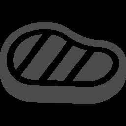 ステーキのアイコン アイコン素材ダウンロードサイト Icooon Mono 商用利用可能なアイコン素材が無料 フリー ダウンロードできるサイト