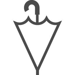 傘の無料アイコン アイコン素材ダウンロードサイト Icooon Mono 商用利用可能なアイコン素材が無料 フリー ダウンロードできるサイト
