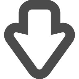 Arrow Under Icon 7 アイコン素材ダウンロードサイト Icooon Mono 商用利用可能なアイコン素材が無料 フリー ダウンロードできるサイト