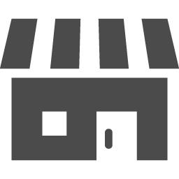 ショップアイコン1 アイコン素材ダウンロードサイト Icooon Mono 商用利用可能なアイコン素材が無料 フリー ダウンロードできるサイト