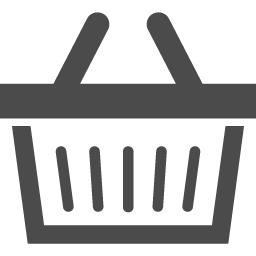 買い物カゴのアイコン1 アイコン素材ダウンロードサイト Icooon Mono 商用利用可能なアイコン素材が無料 フリー ダウンロードできるサイト