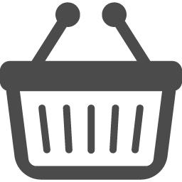 買い物カゴのアイコン2 アイコン素材ダウンロードサイト Icooon Mono 商用利用可能なアイコン 素材が無料 フリー ダウンロードできるサイト