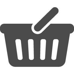 買い物カゴのアイコン7 アイコン素材ダウンロードサイト Icooon Mono 商用利用可能なアイコン 素材が無料 フリー ダウンロードできるサイト