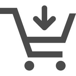 ショッピングカートのアイコン23 アイコン素材ダウンロードサイト Icooon Mono 商用利用可能なアイコン素材が無料 フリー ダウンロードできるサイト