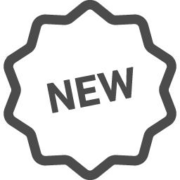 Newのアイコン 5 アイコン素材ダウンロードサイト Icooon Mono 商用利用可能なアイコン素材が無料 フリー ダウンロードできるサイト