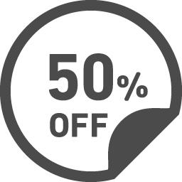 50パーセントオフのアイコン6 アイコン素材ダウンロードサイト Icooon Mono 商用利用可能なアイコン素材が無料 フリー ダウンロードできるサイト