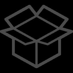 段ボール箱 12 アイコン素材ダウンロードサイト Icooon Mono 商用利用可能なアイコン素材が無料 フリー ダウンロードできるサイト