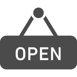 開店時間のアイコン アイコン素材ダウンロードサイト Icooon Mono 商用利用可能なアイコン素材が無料 フリー ダウンロードできるサイト
