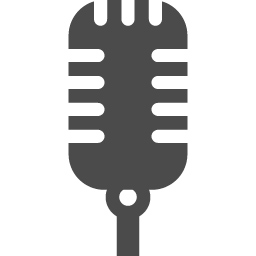 マイクのアイコンその6 アイコン素材ダウンロードサイト Icooon Mono 商用利用可能なアイコン 素材が無料 フリー ダウンロードできるサイト