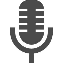 マイクのアイコンその7 アイコン素材ダウンロードサイト Icooon Mono 商用利用可能なアイコン素材が無料 フリー ダウンロードできるサイト