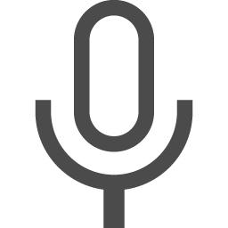 マイクのフリーアイコンその9 アイコン素材ダウンロードサイト Icooon Mono 商用利用可能なアイコン素材が無料 フリー ダウンロードできるサイト
