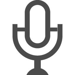 マイクのアイコンその11 アイコン素材ダウンロードサイト Icooon Mono 商用利用可能なアイコン 素材が無料 フリー ダウンロードできるサイト