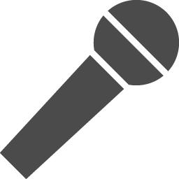 カラオケのフリーアイコン アイコン素材ダウンロードサイト Icooon Mono 商用利用可能なアイコン素材が無料 フリー ダウンロードできるサイト