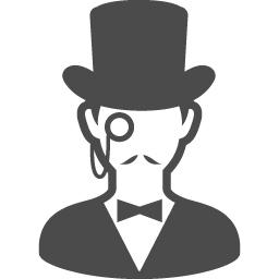 Arsene Lupin 1 アイコン素材ダウンロードサイト Icooon Mono 商用利用可能なアイコン素材が無料 フリー ダウンロードできるサイト