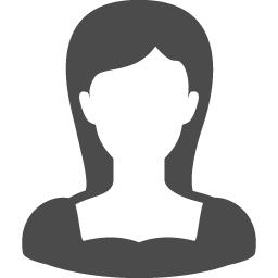 女性の人物アイコン アイコン素材ダウンロードサイト Icooon Mono 商用利用可能なアイコン素材が無料 フリー ダウンロードできるサイト
