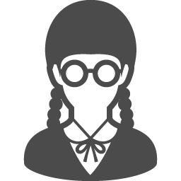 女子高生のフリーアイコン9 アイコン素材ダウンロードサイト Icooon Mono 商用利用可能なアイコン素材が無料 フリー ダウンロードできるサイト