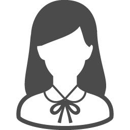 女子高生のフリーアイコン15 アイコン素材ダウンロードサイト Icooon Mono 商用利用可能なアイコン 素材が無料 フリー ダウンロードできるサイト