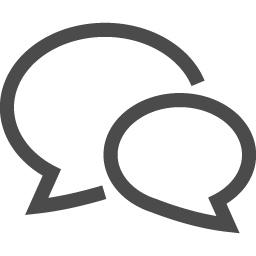 吹き出しのアイコン5 アイコン素材ダウンロードサイト Icooon Mono 商用利用可能なアイコン素材が無料 フリー ダウンロードできるサイト