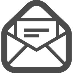 メールの無料アイコンその21 アイコン素材ダウンロードサイト Icooon Mono 商用利用可能なアイコン 素材が無料 フリー ダウンロードできるサイト