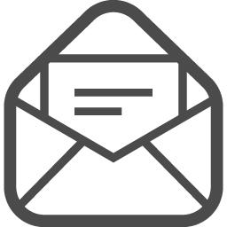 メールの無料アイコンその22 アイコン素材ダウンロードサイト Icooon Mono 商用利用可能なアイコン 素材が無料 フリー ダウンロードできるサイト