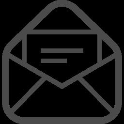 メールの無料アイコンその22 アイコン素材ダウンロードサイト Icooon Mono 商用利用可能なアイコン素材が無料 フリー ダウンロードできるサイト