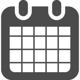 カレンダーのフリーアイコン3 アイコン素材ダウンロードサイト Icooon Mono 商用利用可能なアイコン 素材が無料 フリー ダウンロードできるサイト