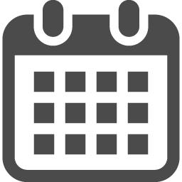 カレンダーのフリーアイコン4 アイコン素材ダウンロードサイト Icooon Mono 商用利用可能なアイコン素材が無料 フリー ダウンロードできるサイト