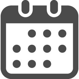 カレンダーの無料アイコン7 アイコン素材ダウンロードサイト Icooon Mono 商用利用可能なアイコン 素材が無料 フリー ダウンロードできるサイト