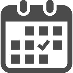 カレンダーアイコン8 アイコン素材ダウンロードサイト Icooon Mono 商用利用可能なアイコン素材が無料 フリー ダウンロードできるサイト