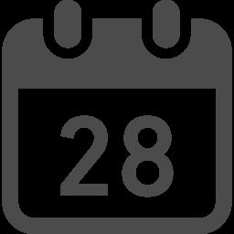 カレンダーのフリーアイコン11 アイコン素材ダウンロードサイト Icooon Mono 商用利用可能なアイコン素材が無料 フリー ダウンロードできるサイト