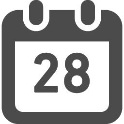 カレンダーアイコン22 アイコン素材ダウンロードサイト Icooon Mono 商用利用可能なアイコン素材が無料 フリー ダウンロードできるサイト