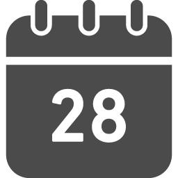 カレンダーの無料アイコン31 アイコン素材ダウンロードサイト Icooon Mono 商用利用可能なアイコン素材が無料 フリー ダウンロードできるサイト
