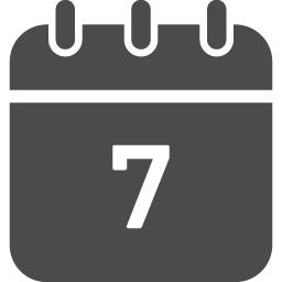カレンダーのフリーアイコン32 アイコン素材ダウンロードサイト Icooon Mono 商用利用可能なアイコン素材が無料 フリー ダウンロードできるサイト