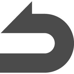 Uターン矢印 2 アイコン素材ダウンロードサイト Icooon Mono 商用利用可能なアイコン素材が無料 フリー ダウンロードできるサイト